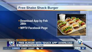 Get a free Shake Shack burger by downloading new app