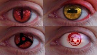 REAL LIFE Anime Eyes #2 (Mangekyou, Jagan, Sennin...)
