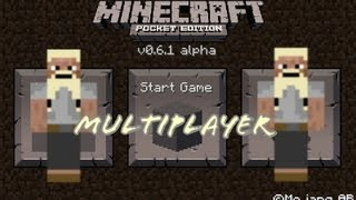 Tutorial - Multiplayer in Minecraft Pocket Edition