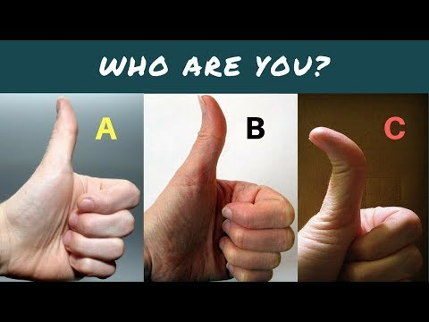 Thumb Tells A Lot About Your Personality Part 2 Palmistry