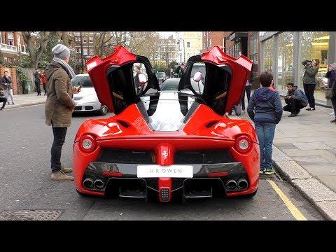 2Million 963 HorsePower Ferrari LAFERRARI on the road in London