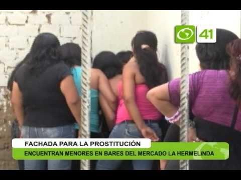 Encuentran a menores de edad ejerciendo la prostitución Trujillo