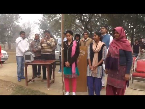 ROHTAK: Girls hoists flags in schools in Haryana villages on Republic Day