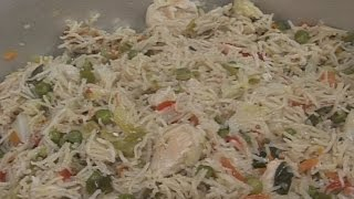 """"""" Chinese Pulao """" Bajias Cooking"""