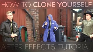How To Clone Yourself! - After Effects Turorial