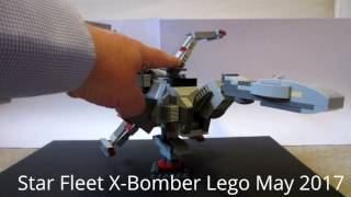 X-Bomber from Star Fleet on Lego Ideas Demo