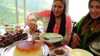 Ariana Bundy Samples Caspian Food Delights