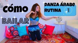 Cómo bailar danza arabe ,rutina 1.