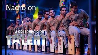 Naadro on Sri Lanka's Got Talent 2018