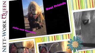 Forest Jumper Collage von  Julia und Karoline  Pferdefreunde Isi-Gang