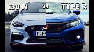 Hyundai i30 N vs Honda Civic Type R (2018)