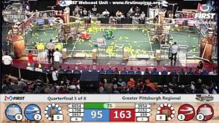 Quarterfinal 5 - 2017 Greater Pittsburgh Regional