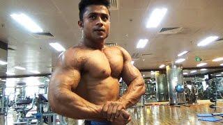Mr Bangladesh Shakib Trains Chest at Future Fitness