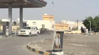 تفحيط عماني في محطة وقود