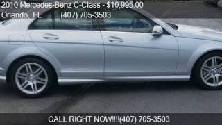 2010 Mercedes-Benz C-Class C 350 Sport 4dr Sedan for sale in