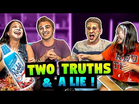 TWO TRUTHS & A LIE ft. FBE React Cast & Staff