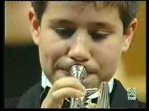 Rubén Simeó trompeta. Carnaval final. RTVE