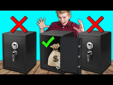 DONT Unlock the Wrong Mystery Safe Challenge