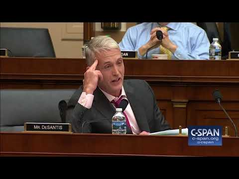 """Rep. Trey Gowdy: """"Whatever you got, finish it the hell up..."""" (C-SPAN)"""