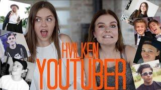 HVILKEN YOUTUBER? ft Kristine Sloth