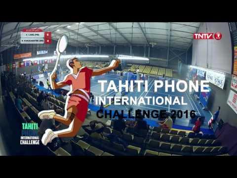 Tahiti Phone International Challenge 2016   MS   QF   Ville Lang [FIN] vs Niluka Karunaratne [SRI]