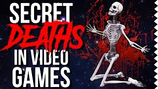 Super Secret Deaths in Video Games! (Secret Dead People/Characters)