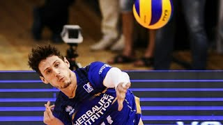 Clean ACE   T Rossard   Volleyball   French lefty spiker  France vs Serbia decider VNL  