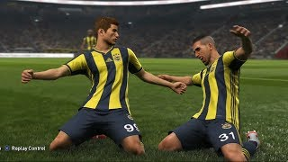 PES 2019 - Beşiktaş JK vs Fenerbahçe SK - Gameplay (PS4 HD) [1080p60FPS]