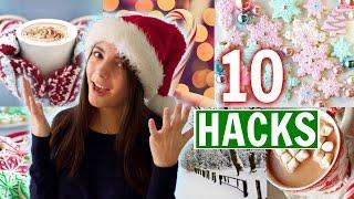 Christmas Hacks You NEED to Know! 10 Holiday Life Hacks