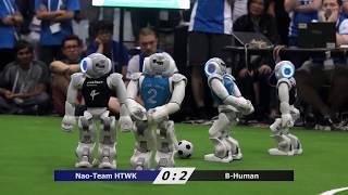 RoboCup World Championship 2017 SPL Finals B-Human vs. Nao-Team HTWK