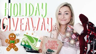 HOLIDAY GIVEAWAY 2017!!!! (Open + International) Starbucks Gift Card, Bath and Bodyworks, + MORE!