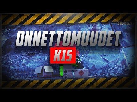 Räjähdekoulutusvideo Onnettomuudet VAROITUS ei herkille K 15