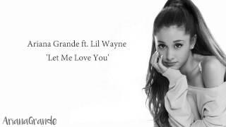 Ariana Grande - Let me love you (lyrics) | DB