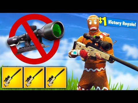NO SCOPE KILLS ONLY Challenge in Fortnite Battle Royale