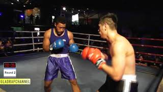 Fight 3: Tevita Ula vs Sylvester Finau - Multitrade Promotions - Auckland 02Dec17