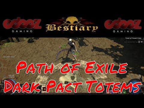 Path Of Exile 3 2 Soul Mantle Dark Pact 4x Totems Bestiary Pokemon Templar Lets Play