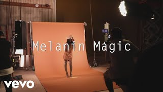Remy Ma - Melanin Magic (Pretty Brown) - Behind the Scenes ft. Chris Brown