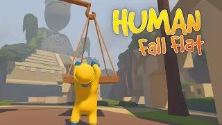 Human Fall Flat - Exploring Aztec Ruins! - Let