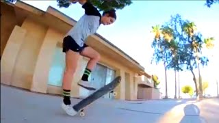 GIRL HAS PERFECT 360 FLIPS!! (Tre flip) | Skate Submit