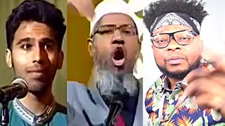 CATHOLIC REACTS TO Ex Muslim Makes Dr. Zakir Naik Angry Then Storm Off Stage!!!