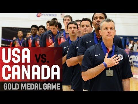 watch Canada v USA - Final - 2014 FIBA Americas U18 Championship for Men
