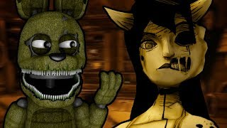PLUSHTRAP PLAYS: Bendy and the Ink Machine - Chapter 3 (Part 1) || A DATE WITH AN ANGEL!!!