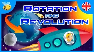 Earth's Rotation and Revolution Movements | Educational Videos for Kids