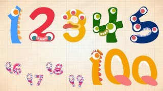 Endless Numbers - Learn to Count from 1 to 100 & Simple Addition With the Adorable Endless Monsters