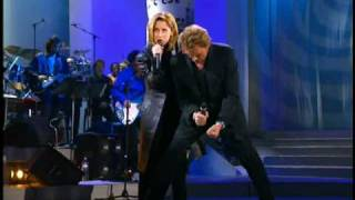Lara Fabian & Johnny Hallyday - Requiem Pour Un Fou (Enfoires en coeur - 1998).wmv
