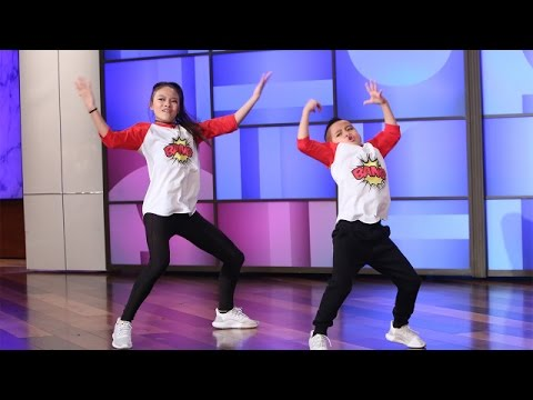 Dancing Siblings Perform and Get Their Minds Blown!