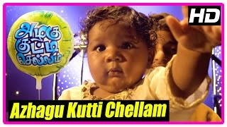 Azhagu Kutti Chellam Movie | Climax Scene | Drama success | Azhagu Kutti Chellam Song | End Credits