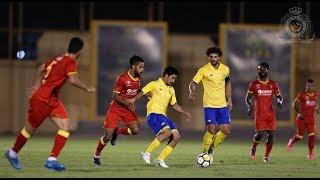 ملخص مباراة النصر ونادي القادسية || مباراة ودية