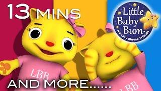 Peekaboo Song | Plus Lots More Nursery Rhymes | Original Song by LittleBabyBum!