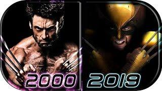 EVOLUTION of WOLVERINE in Movies (2000-2019) AVENGERS ENDGAME Wolverine vs Hulk fight scene trailer